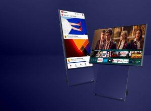 Samsung : Le premier téléviseur à rotation verticale The Sero