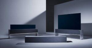 LG annonce le lancement du premier téléviseur enroulable au monde