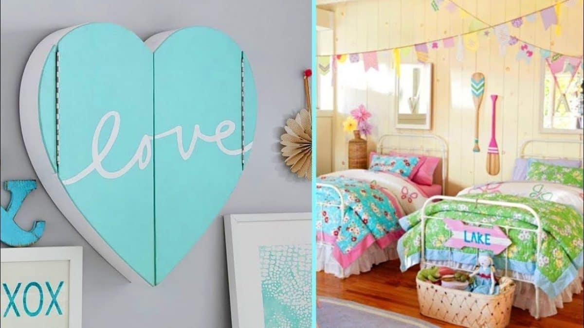 Astuce décoration : voici comment décorer convenablement la chambre de votre enfant!