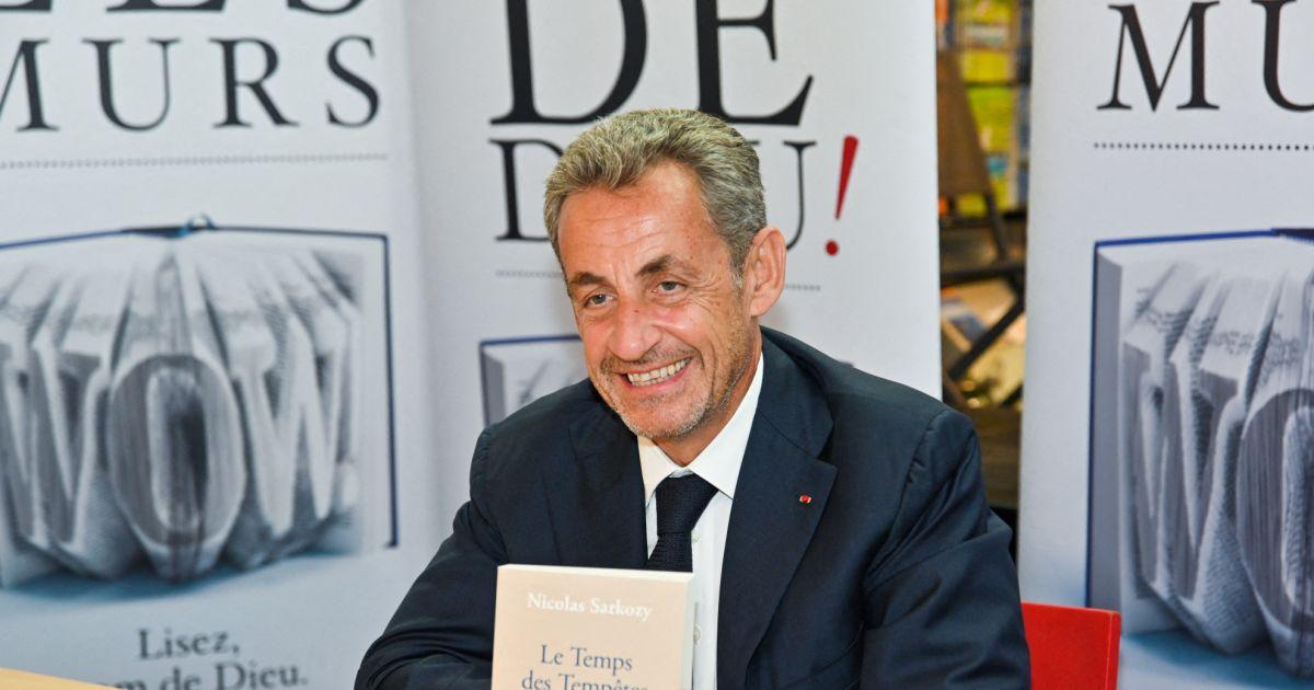 L'ancien président de la République Nicolas Sarkozy annonce la sortie de son nouveau livre!