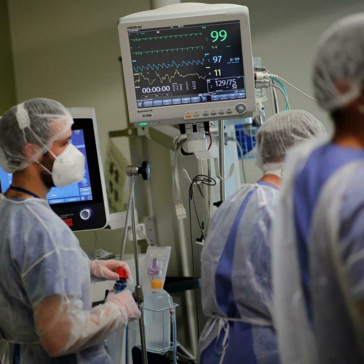 Covid-19: Bilan du nombre de patients hospitalisés, le taux d'entée en nette diminution!