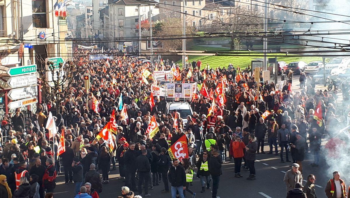 Grève du 5octobre, une marée humaine dans les rues